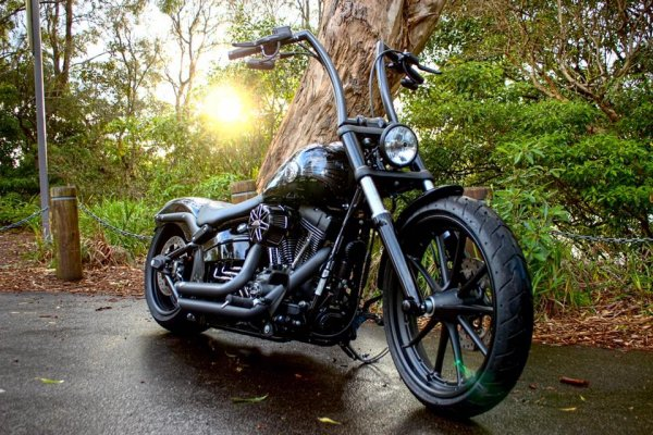 18inch Breakout Highballs Iron Motorcycles