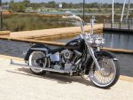 P9250628 Ape Hangers And Clamps 112inch One And Half Inch Vince Westside Customs Wa Deluxe Softail