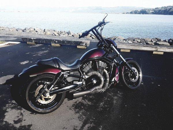 Full Throttle Motorcycles Straight Riser Tbars Vrod Speedo Bracket (1)