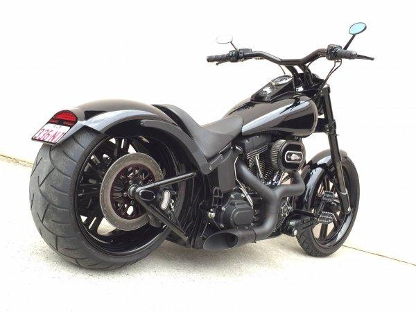 Quality Harleys Facebook 2016 Nov6 Knuckle Bars 2